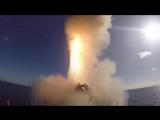 Кадры поражения ракетами Калибр и Оникс в Сирии