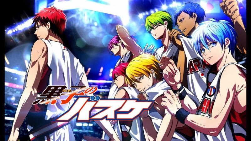 Баскетбол Куроко/Kuroko's Basketball/Kuroko no Basket/Kuroko no Basuke. Опенинг/Opening 1-6