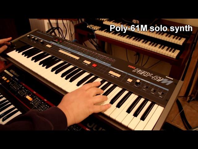 '80s/Italo with Drumulator, Juno-60, Poly-61M
