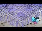 Chal tejido a crochet facil