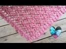 Chal crochet flores puff muy facil de tejer / Châle fleur puff crochet facile