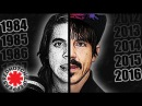 THE TRANSFORMATION OF ANTHONY KIEDIS And 25 RHCP songs