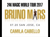 SO EXCITED THAT IM OPENING FOR @BRUNOMARS THIS SUMMER!!!!!! every night I'm gonna be peering out from side stage trying to learn as much as I can because for years I've looked up to Bruno as a vocalist, musician, entertaine