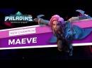 Paladins Champion Teaser Maeve of Blades