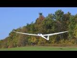 Sailplane winch launching practice at Karl Striediecks Eagle Field
