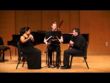 Walter Piston, Three Pieces for Flute, Clarinet, and Bassoon, movement 1