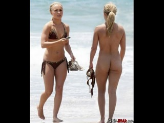 THE TOP 30 CELEBRITIES NUDE AT THE BEACH ( 18)