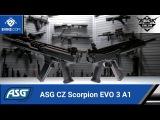 ASG CZ Scorpion EVO 3 A1 Carbine AEGs - The Gun Corner - Airsoft Evike.com