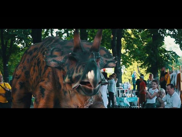 Шоу живых динозавров в Анапе » Freewka.com - Смотреть онлайн в хорощем качестве