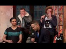 Ryan Reynolds, TJ Miller, Ed Skrein and Morena Baccarin On Deadpool   AOL BUILD