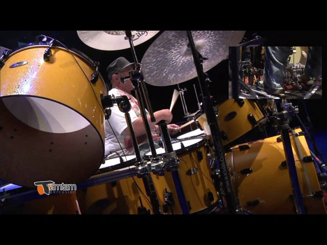 Dennis Chambers - TamTam DrumFest Sevilla 2015 - Drums Solo - Pearl Drums, Zildjian Cymbals, Evans