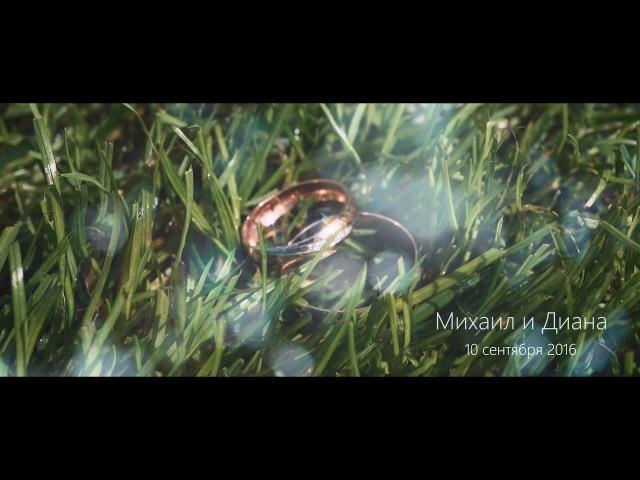 Свадебная история: Михаил и Диана 10.09.2016