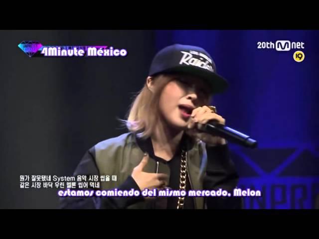 [SUB ESP] JiYoon (4Minute) YuBin (Wonder Girls) - Naega Hae I, I Will Do it