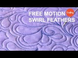 FMQ Ideas Free Motion Swirl Feathers  Quilting Tutorial with Patsy Thompson