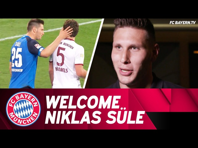 I know exactly what's awaiting me - Niklas Süle's First FC Bayern Interview