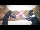 KYLO REN VS. DARTH VADER IN REAL LIFE!!!! ( A star wars fan-film )