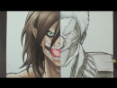 Speed Drawing - Eren - Reiner (Shingeki no Kyojin)