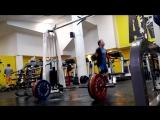 СТАН.ТЯГИ 140 кг. - 3 по 7 раз. в каждом подходе 2 упражнения.