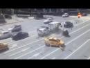 ДТП с участием трех авто на Ленинском проспекте в Москве 25.06.17