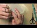 Как сделать туфли для куклы МК от Дианы Эффнер. Ч. 2. Верхняя часть туфель - YouTube