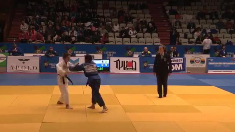 48 kg 1⁄8 ٭ PERSIDSKAIA (RUS) - SHMAL (UKR) ٭ European Open Women Sofia (BUL) 17