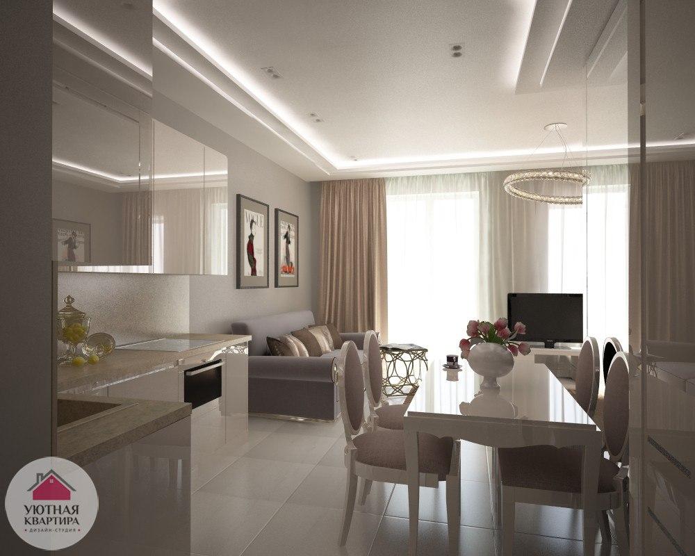 Проект квартиры 53 м.