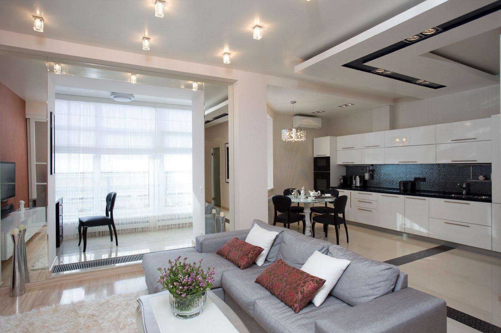 Интерьер квартиры 60 м в Москве.
