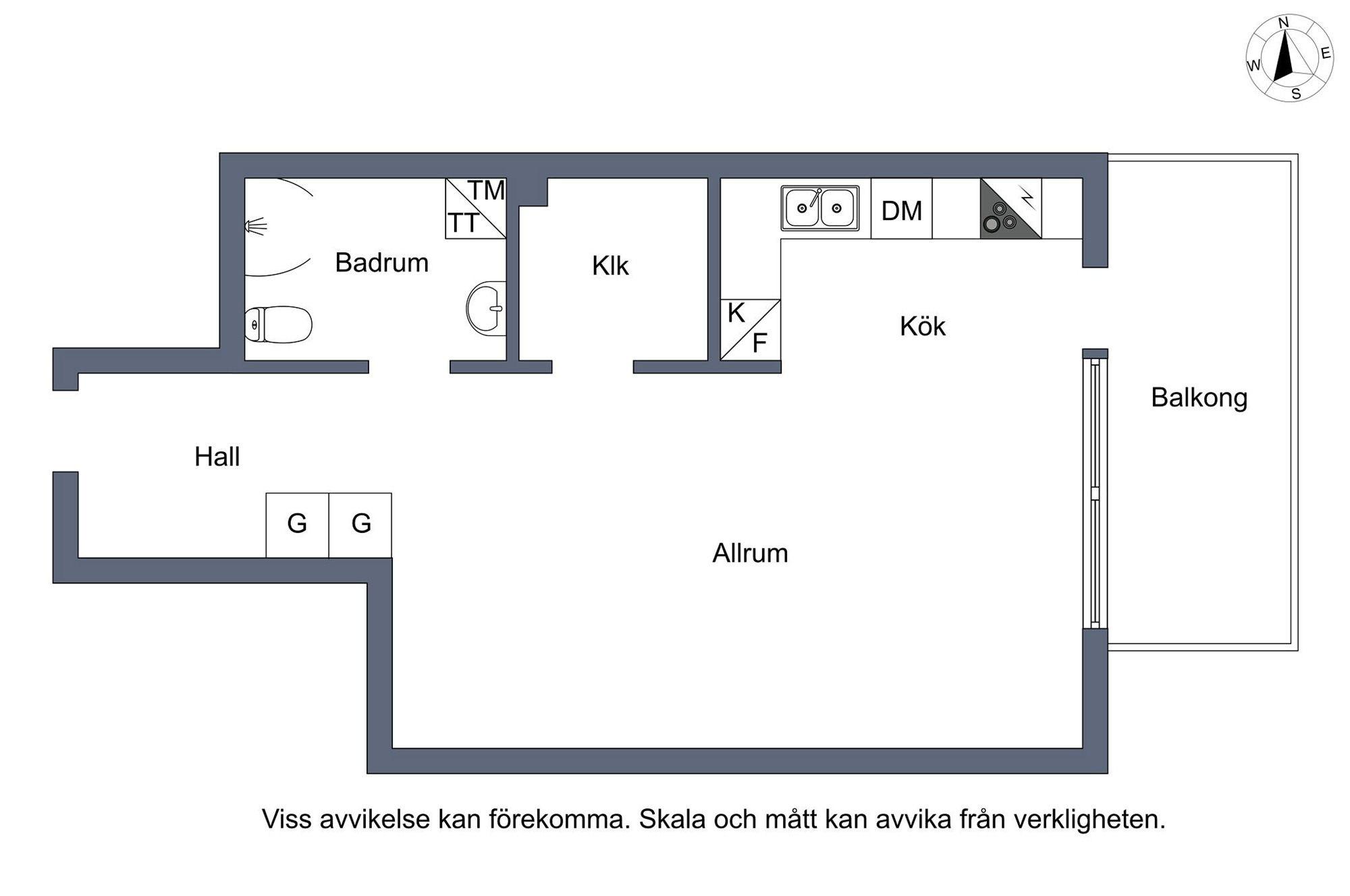 Квартира-студия 40 м.