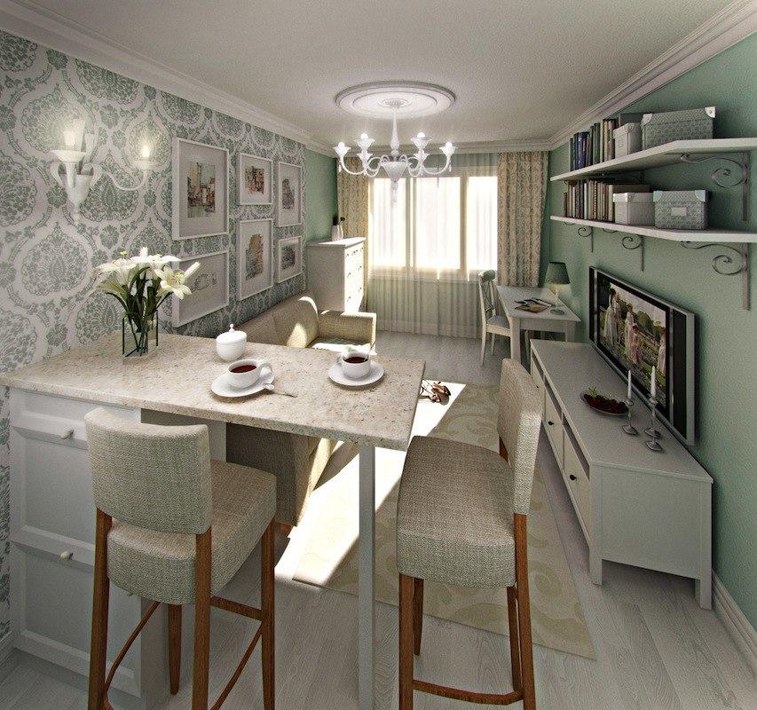 Проект комнаты в квартире-студии 26 м от застройщика O2 Development, Санкт-Петербург.