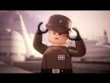 Лего Звёздные войны Мультик №1. LEGO Star Wars мультфильм