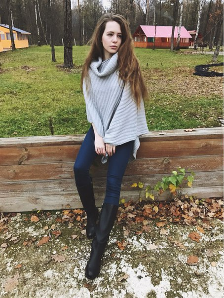 ТЁПЛОЕ ПОНЧО ИЗ МАГАЗИНА TRENDY GIRL STORE 🌪 Доставка: 3