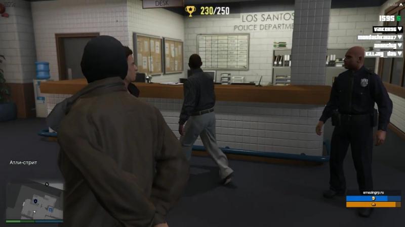 Что происходит в полицейском участке?!