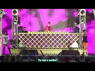 [KARAOKE] AMBER X LUNA - Heartbeat (Feat. Ferry Corsten, Kago Pengchi) (рус. саб)