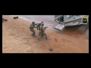 Действия ССО по зачистке береговой линии