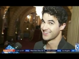 Darren Criss on KTLA5 News