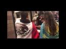 Қазақстандық және мексикалық жанкүйерлер салмақ өлшеу кезінде CaneloGolovkin