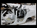 Полицейские нашли угнанную машину в Удмуртии распиленной на части