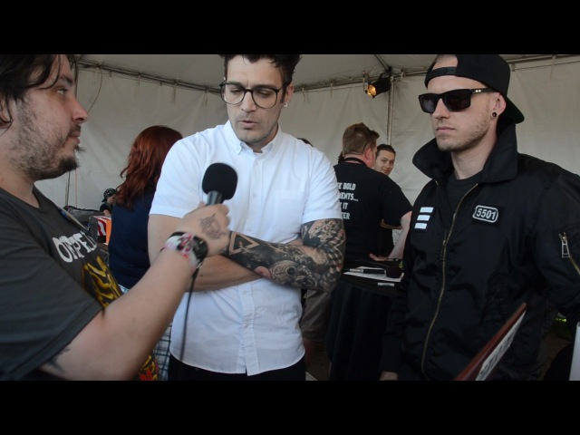 Interview with Starset at Northern Invasion 2017