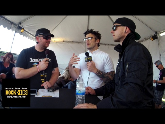 Ned-Rock 108 Interviews Starset @ Northern Invasion 2017