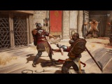 Assassin's Creed Origins: Gladiator Arena Krokodilopolis Gameplay in 4K - E3 2017