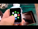 Smart Watch A1 - китайский apple watch - самые дешевые смарт часы