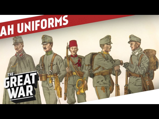 Austro Hungarian Uniforms of World War 1 I THE GREAT WAR Special