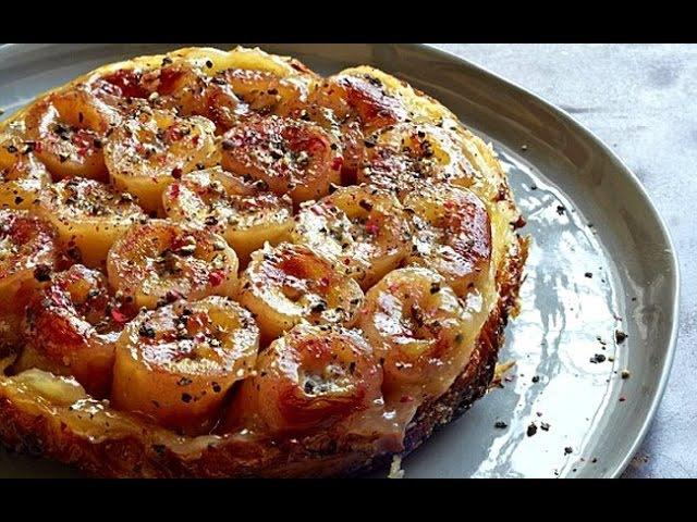 Банановый тарт татен Рецепт от Гордона Рамзи