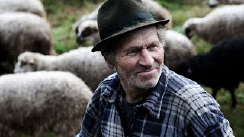 Вівчарі з Руської Мокрої. Закарпаття.