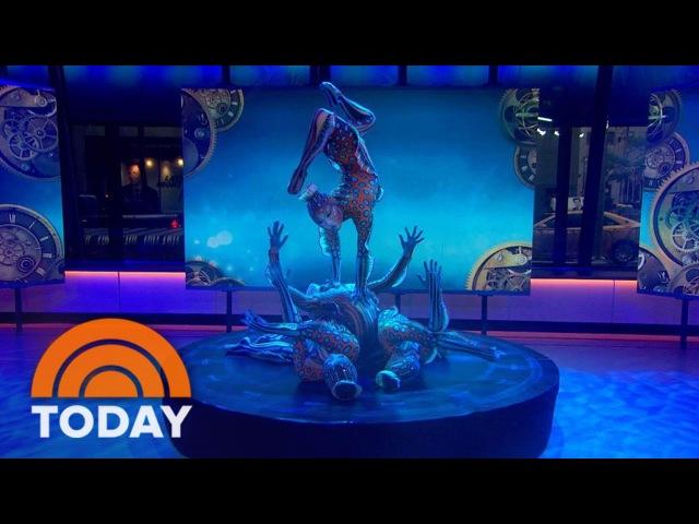 Cirque Du Soleil 'KURIOS' Contortionists' Entrancing Performance   TODAY