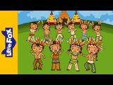 Ten Little Indian Boys  Learning Songs  By Little Fox