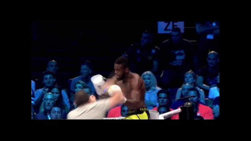 The Fighter was Attacked by a Spectator, Groenhart vs Grigorian