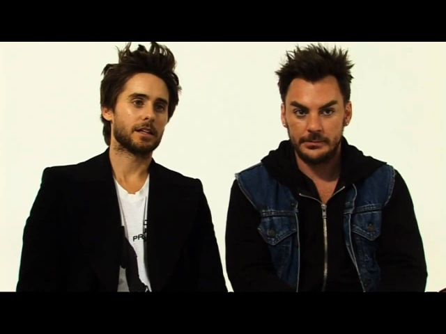 30 Seconds To Mars on showcasing This Is War at a London gig