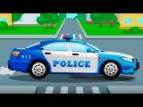 1 ЧАС СБОРНИК Мультфильмы для деток, полицейская машина и гоночные спорткары в г ...