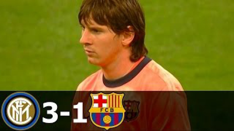 Inter Milan vs FC Barcelona 3-1 All Goals and Highlights with English Commentary (UCL) 2009-10 HD